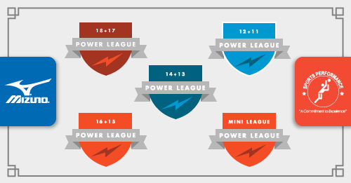 Sports Performance Volleyball - Great Lakes Power League Tournament Banner