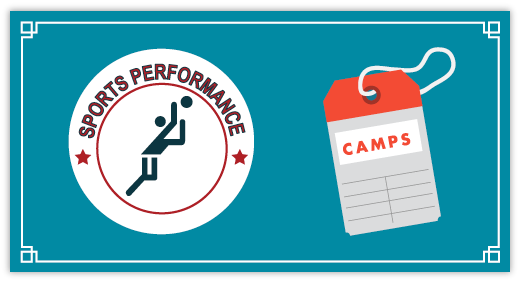 Sports Performance Volleyball - General Camps Banner