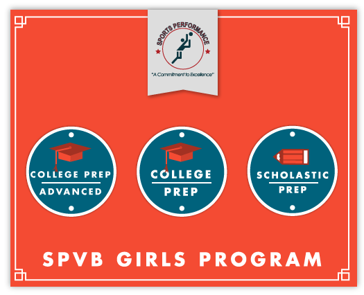 Sports Performance Volleyball - Girls Program Banner